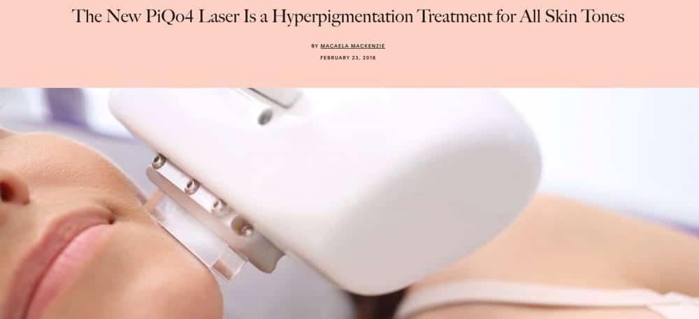 PiQo4 Laser Treatment